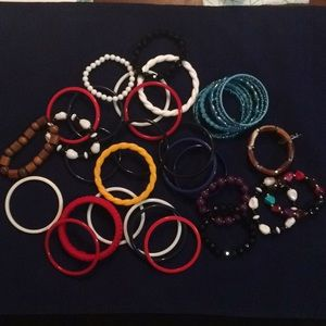 Jewelry - Lot fashion bracelets-vintage and recent
